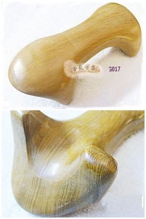 《香氛市集》G017 梢楠木製蛙型刮痧板9支
