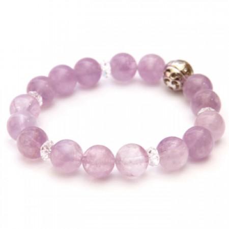 《香氛市集》Aura-soma 脈輪共振手環-紫晶 (第6脈輪)