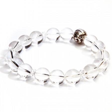 香氛市集》Aura-soma 脈輪共振手環-白晶 (第7脈輪)