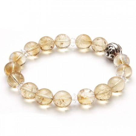 《香氛市集》Aura-soma 脈輪共振手環-黃晶 (第3脈輪)