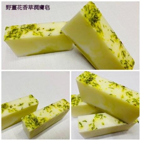 《香氛市集》380系列-野薑花香草潤膚皂100g