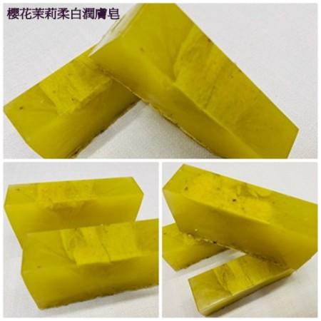 《香氛市集》680系列-櫻花茉莉柔白潤膚皂100g