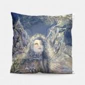 《香氛市集》【Josephine Wall畫作授權抱枕】-觀星精靈抱枕/靠枕