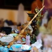 《香氛市集》(全新到貨)印尼血龍木 接骨木魔法棒(治療棒 魔杖)