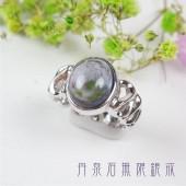 《香氛市集》丹泉石無限鍍白K銀戒