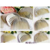 《香氛市集》L017半月型羊角梳子20支