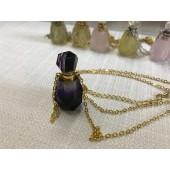 《香氛市集》手工紫水晶能量項鍊~深紫(附禮盒)