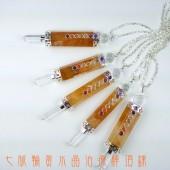 《香氛市集》七脈輪黃水晶治療棒 項鍊 ~是項鍊 是靈擺 也是魔法棒喲
