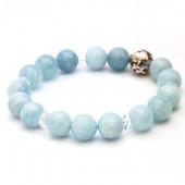 《香氛市集》Aura-soma 脈輪共振手環-海藍寶石 (第5脈輪)
