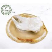 《香氛市集》列木尼亞白水晶+天然瑪瑙片