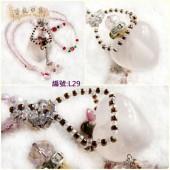 《香氛市集》L29粉色水晶精油瓶水晶項鍊(溢香/擴香瓶)