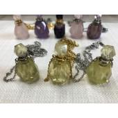 《香氛市集》手工水晶能量項鍊~黃水晶(附禮盒)